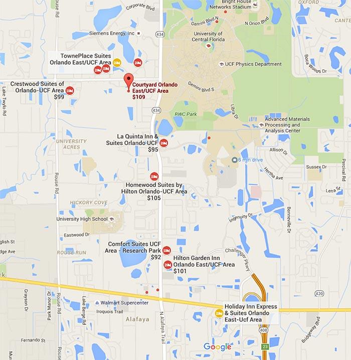 Hotels Near Ucf Florida